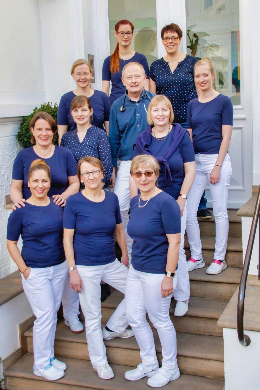 Das Team von Praxis Dr. Lüske in Oldenburg